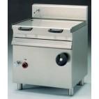 Sauteuse électrique , inox AISI 304 , 800 x 700 x 900 mm