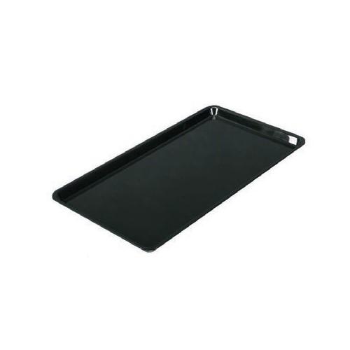 Plateau cuisine, plexi noir rectangulaire, 600 x 400 mm