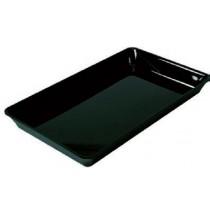 Plat plexi noir rectangulaire GN1/1 , 530 x 325 x 50 mm