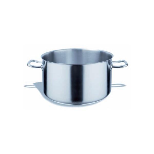 Braisiere cuisine sans couvercle inox 240 h 140 for Materiel cuisine inox
