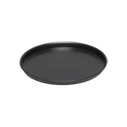 Plat à pizza , acier bleu anti-adhésif , Ø 360 x H 20 mm , Fond 340 mm