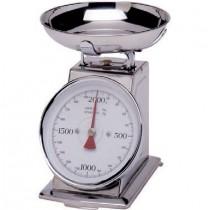 Balance , Acier inoxydable,  Portée- 2KG , Précision (G)- 10 , 210 x 140 x 255 mm