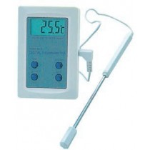 Thermomètre digital -50°/+300°C avec sonde repliable