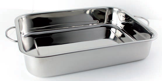 Plat A Lasagnes Avec Anses Poli Miroir Stl Sarl Materiels