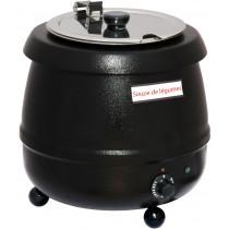 Soupiere 9 litres, boîtier en tôle d'acier thermolaqué, 400W