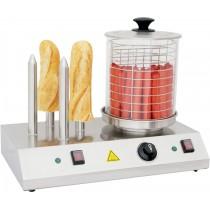 Appareil à hot-dog électrique 4 plots , L - 500 mm , P - 285 mm , H - 390 mm