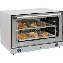 Four à convéction  pâtissier avec vapeur , Acier inoxydable , 835 x 800 x 570 mm