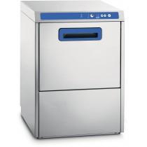 Lave-vaisselle professionnel double paroi avec pompe de vidange intégrée, en acier inoxydable AISI 18/10, 5 700 W