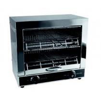Toaster professionnel inox, 3 Kw
