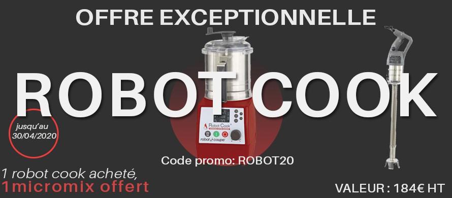 1 robot cook acheté un micro mix offert